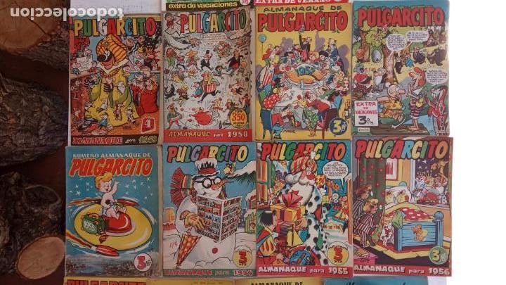 Tebeos: PULGARCITO ALMANAQUES - 1949,1950,1951,1952,1953,1954,1955,1956,1957,1958,1959 - EXTRA VACACIONES - - Foto 5 - 163619374