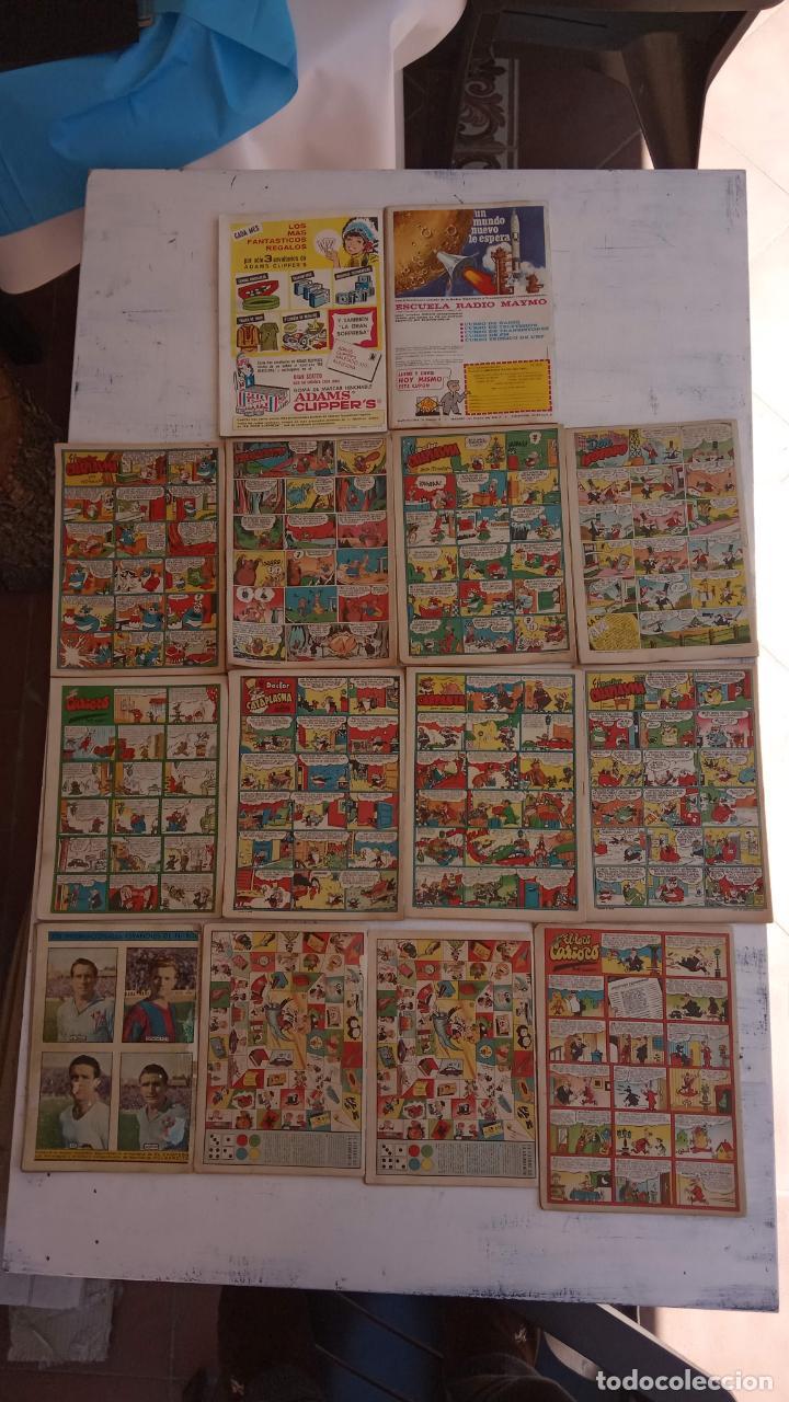 Tebeos: PULGARCITO ALMANAQUES - 1949,1950,1951,1952,1953,1954,1955,1956,1957,1958,1959 - EXTRA VACACIONES - - Foto 7 - 163619374