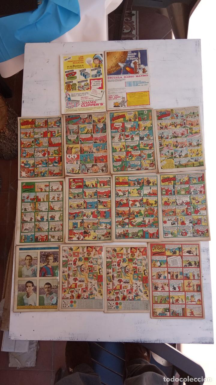 Tebeos: PULGARCITO ALMANAQUES - 1949,1950,1951,1952,1953,1954,1955,1956,1957,1958,1959 - EXTRA VACACIONES - - Foto 8 - 163619374