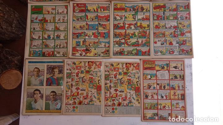 Tebeos: PULGARCITO ALMANAQUES - 1949,1950,1951,1952,1953,1954,1955,1956,1957,1958,1959 - EXTRA VACACIONES - - Foto 9 - 163619374