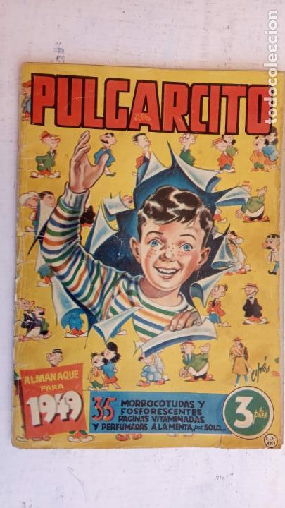 Tebeos: PULGARCITO ALMANAQUES - 1949,1950,1951,1952,1953,1954,1955,1956,1957,1958,1959 - EXTRA VACACIONES - - Foto 12 - 163619374