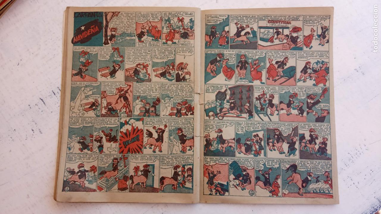 Tebeos: PULGARCITO ALMANAQUES - 1949,1950,1951,1952,1953,1954,1955,1956,1957,1958,1959 - EXTRA VACACIONES - - Foto 19 - 163619374