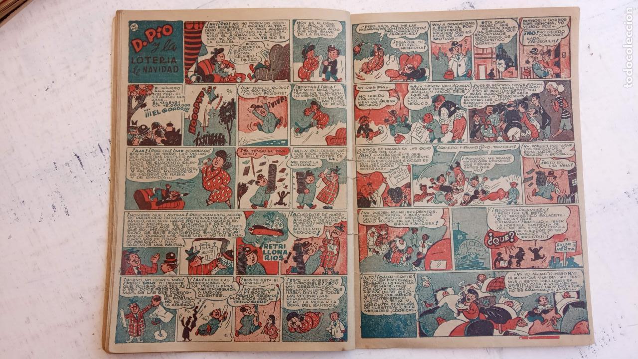 Tebeos: PULGARCITO ALMANAQUES - 1949,1950,1951,1952,1953,1954,1955,1956,1957,1958,1959 - EXTRA VACACIONES - - Foto 20 - 163619374