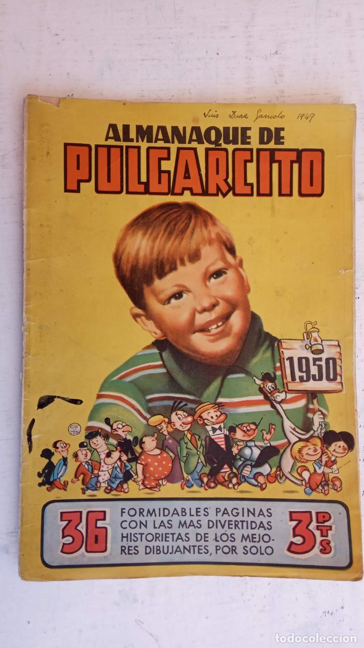 Tebeos: PULGARCITO ALMANAQUES - 1949,1950,1951,1952,1953,1954,1955,1956,1957,1958,1959 - EXTRA VACACIONES - - Foto 24 - 163619374