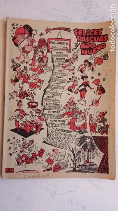 Tebeos: PULGARCITO ALMANAQUES - 1949,1950,1951,1952,1953,1954,1955,1956,1957,1958,1959 - EXTRA VACACIONES - - Foto 26 - 163619374