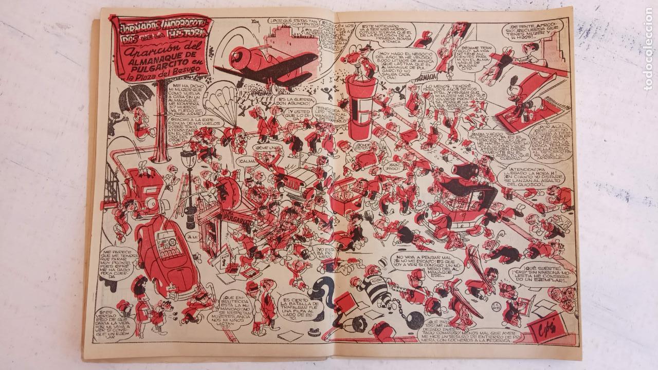 Tebeos: PULGARCITO ALMANAQUES - 1949,1950,1951,1952,1953,1954,1955,1956,1957,1958,1959 - EXTRA VACACIONES - - Foto 32 - 163619374
