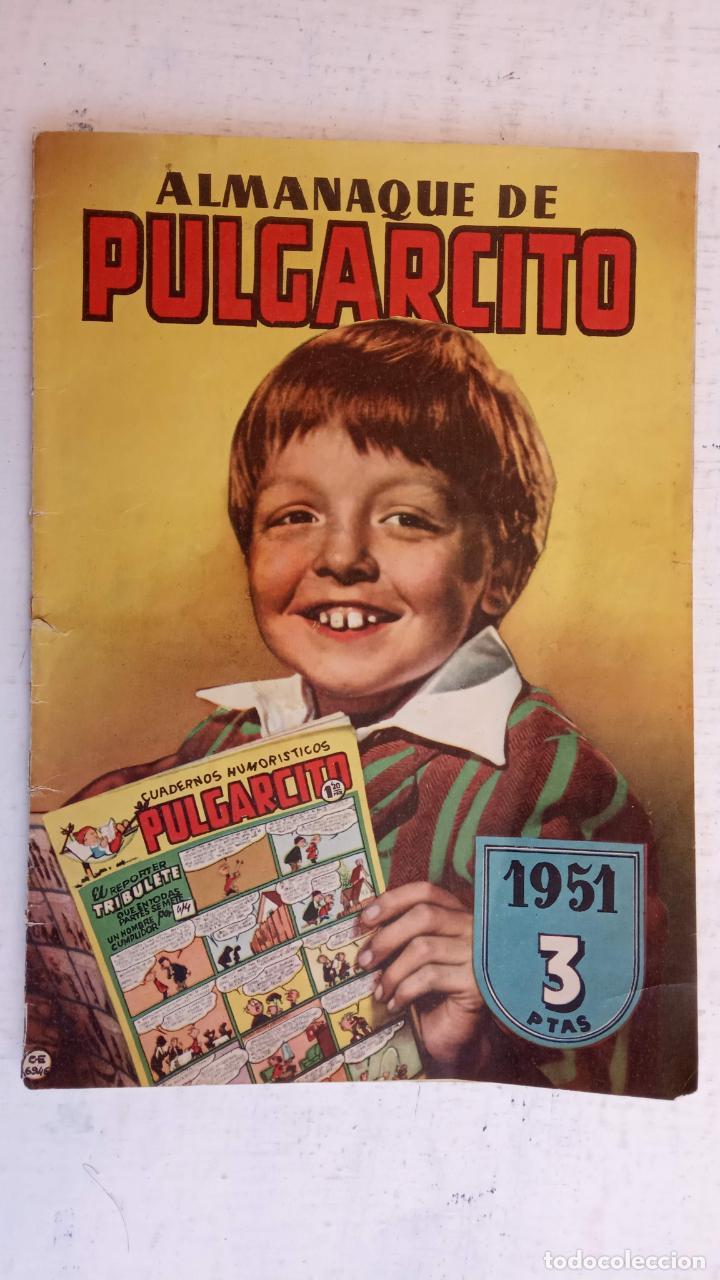 Tebeos: PULGARCITO ALMANAQUES - 1949,1950,1951,1952,1953,1954,1955,1956,1957,1958,1959 - EXTRA VACACIONES - - Foto 37 - 163619374