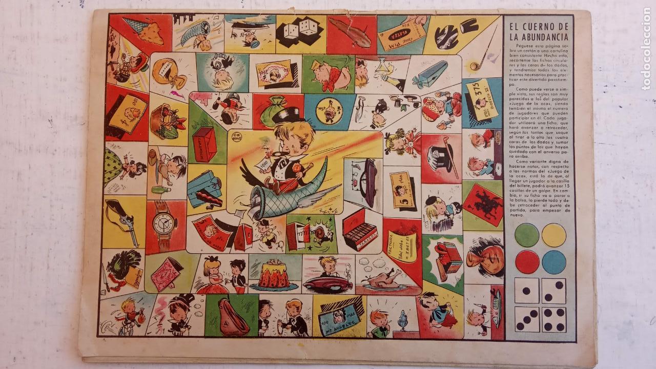 Tebeos: PULGARCITO ALMANAQUES - 1949,1950,1951,1952,1953,1954,1955,1956,1957,1958,1959 - EXTRA VACACIONES - - Foto 38 - 163619374