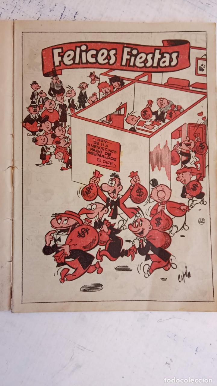 Tebeos: PULGARCITO ALMANAQUES - 1949,1950,1951,1952,1953,1954,1955,1956,1957,1958,1959 - EXTRA VACACIONES - - Foto 39 - 163619374