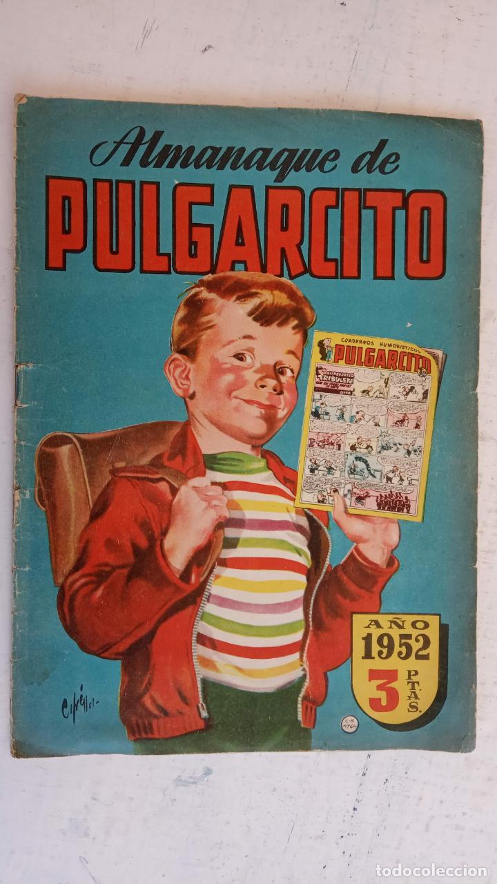 Tebeos: PULGARCITO ALMANAQUES - 1949,1950,1951,1952,1953,1954,1955,1956,1957,1958,1959 - EXTRA VACACIONES - - Foto 47 - 163619374