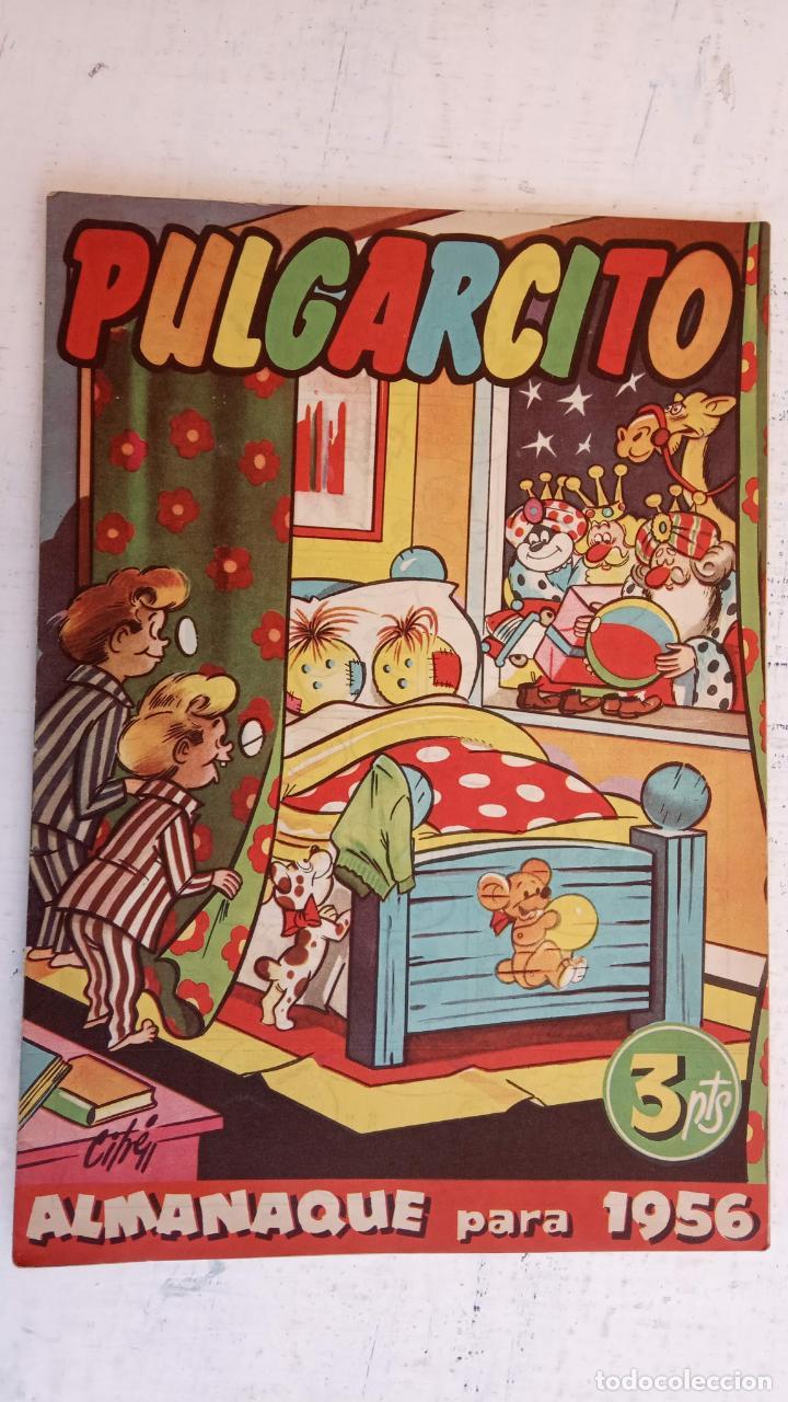 Tebeos: PULGARCITO ALMANAQUES - 1949,1950,1951,1952,1953,1954,1955,1956,1957,1958,1959 - EXTRA VACACIONES - - Foto 55 - 163619374