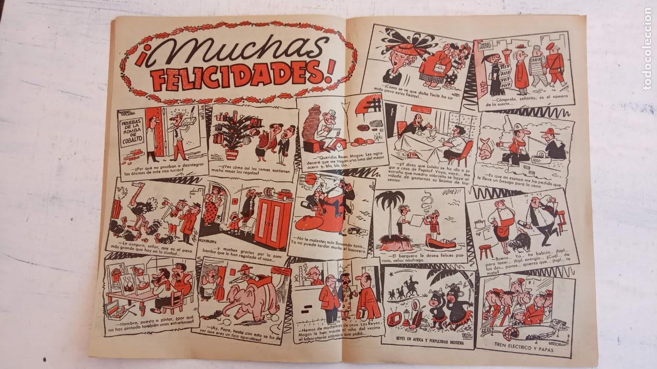 Tebeos: PULGARCITO ALMANAQUES - 1949,1950,1951,1952,1953,1954,1955,1956,1957,1958,1959 - EXTRA VACACIONES - - Foto 63 - 163619374