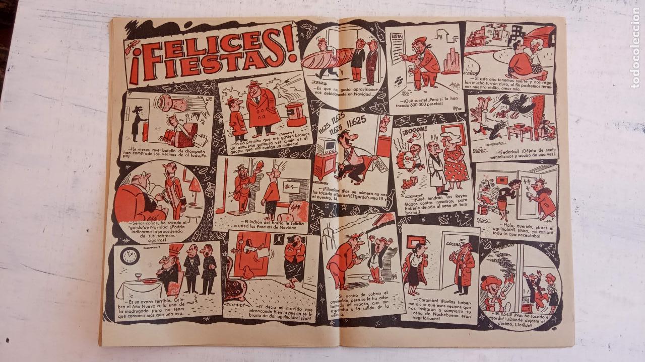 Tebeos: PULGARCITO ALMANAQUES - 1949,1950,1951,1952,1953,1954,1955,1956,1957,1958,1959 - EXTRA VACACIONES - - Foto 74 - 163619374
