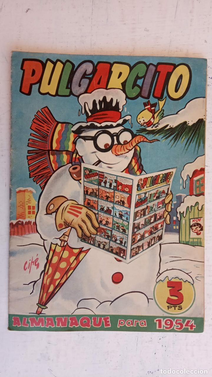 Tebeos: PULGARCITO ALMANAQUES - 1949,1950,1951,1952,1953,1954,1955,1956,1957,1958,1959 - EXTRA VACACIONES - - Foto 78 - 163619374