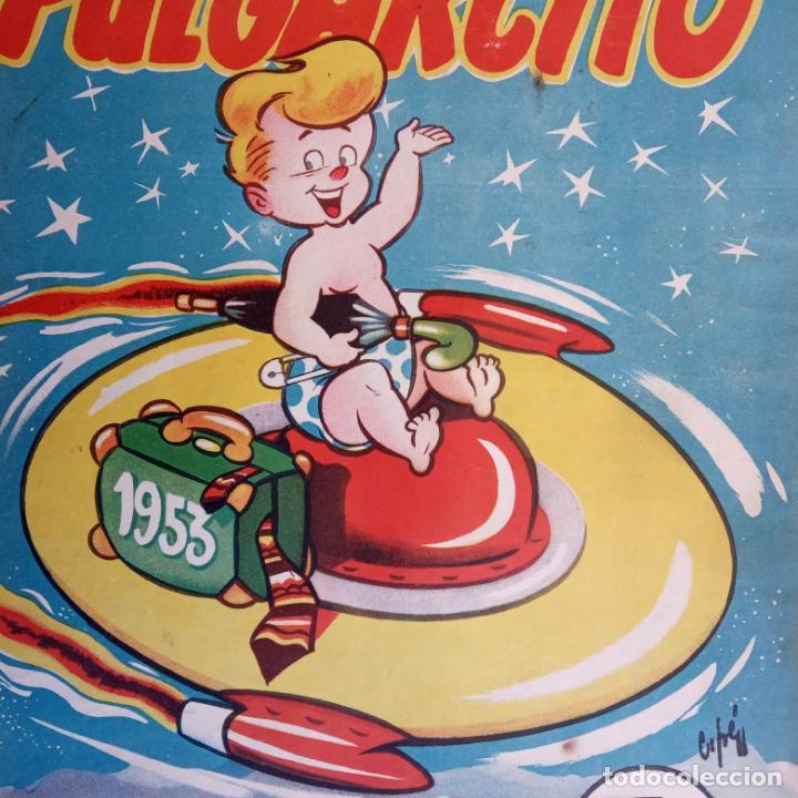 Tebeos: PULGARCITO ALMANAQUES - 1949,1950,1951,1952,1953,1954,1955,1956,1957,1958,1959 - EXTRA VACACIONES - - Foto 89 - 163619374