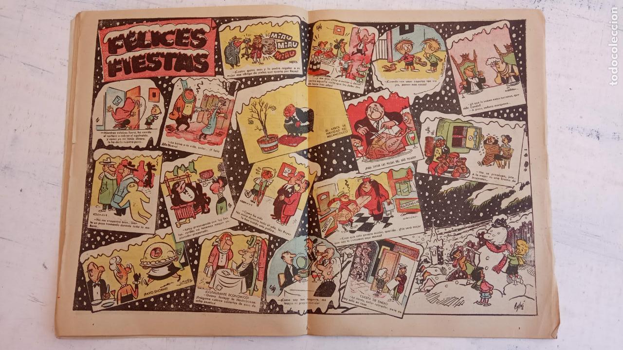 Tebeos: PULGARCITO ALMANAQUES - 1949,1950,1951,1952,1953,1954,1955,1956,1957,1958,1959 - EXTRA VACACIONES - - Foto 92 - 163619374