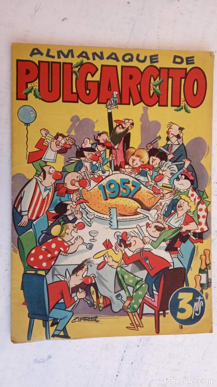Tebeos: PULGARCITO ALMANAQUES - 1949,1950,1951,1952,1953,1954,1955,1956,1957,1958,1959 - EXTRA VACACIONES - - Foto 95 - 163619374