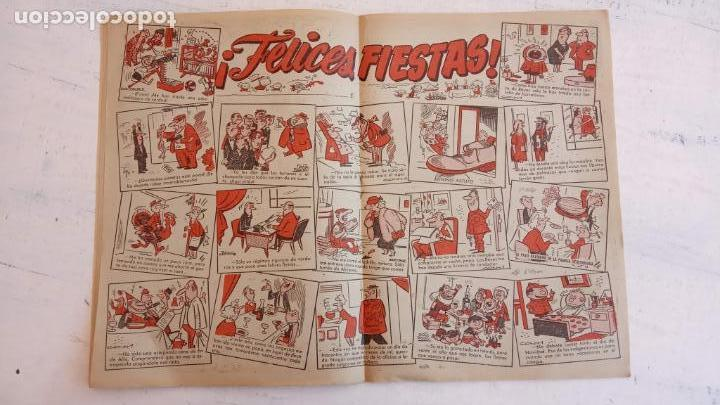Tebeos: PULGARCITO ALMANAQUES - 1949,1950,1951,1952,1953,1954,1955,1956,1957,1958,1959 - EXTRA VACACIONES - - Foto 98 - 163619374