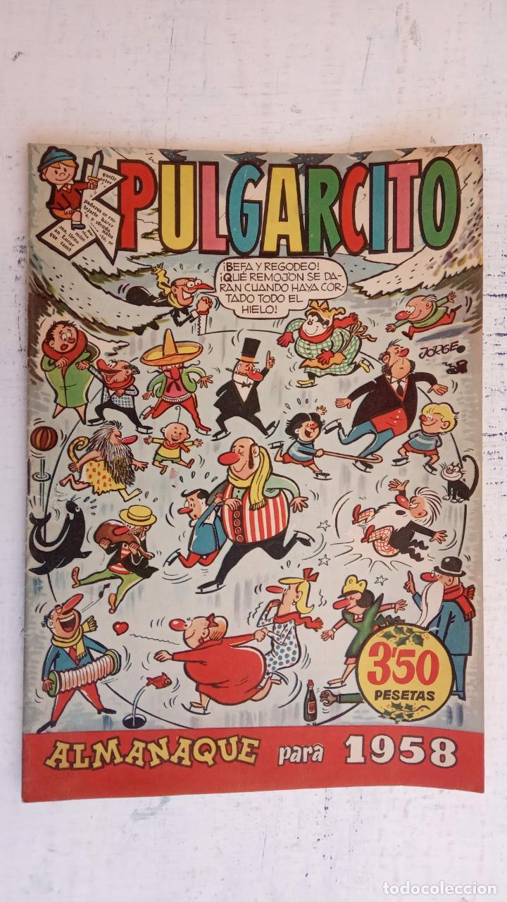 Tebeos: PULGARCITO ALMANAQUES - 1949,1950,1951,1952,1953,1954,1955,1956,1957,1958,1959 - EXTRA VACACIONES - - Foto 100 - 163619374