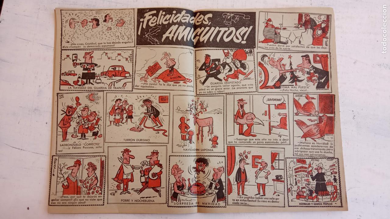 Tebeos: PULGARCITO ALMANAQUES - 1949,1950,1951,1952,1953,1954,1955,1956,1957,1958,1959 - EXTRA VACACIONES - - Foto 104 - 163619374