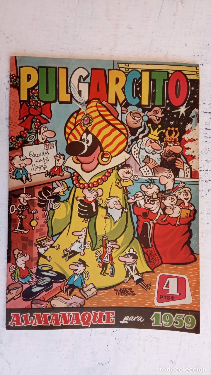 Tebeos: PULGARCITO ALMANAQUES - 1949,1950,1951,1952,1953,1954,1955,1956,1957,1958,1959 - EXTRA VACACIONES - - Foto 106 - 163619374