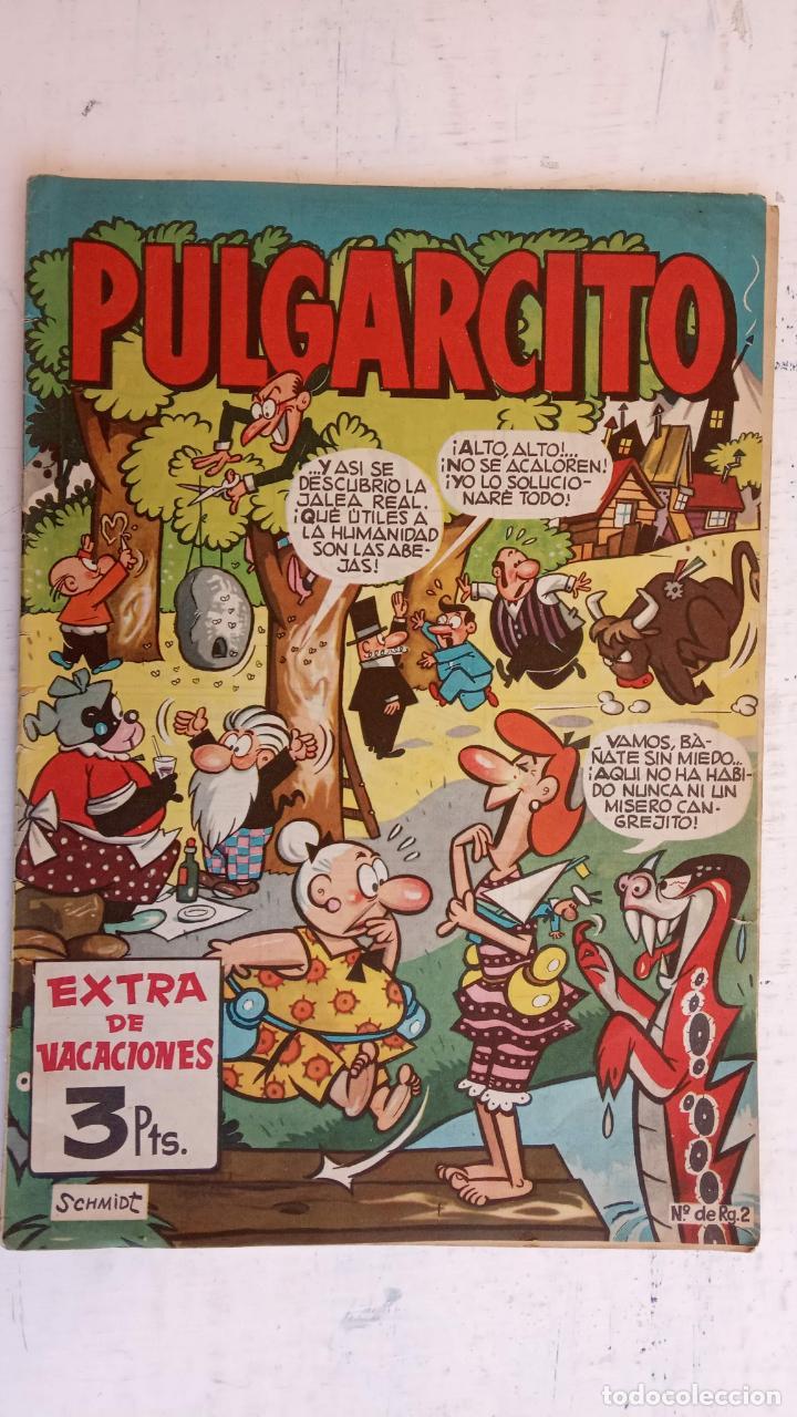 Tebeos: PULGARCITO ALMANAQUES - 1949,1950,1951,1952,1953,1954,1955,1956,1957,1958,1959 - EXTRA VACACIONES - - Foto 111 - 163619374