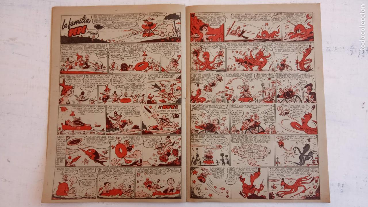 Tebeos: PULGARCITO ALMANAQUES - 1949,1950,1951,1952,1953,1954,1955,1956,1957,1958,1959 - EXTRA VACACIONES - - Foto 117 - 163619374