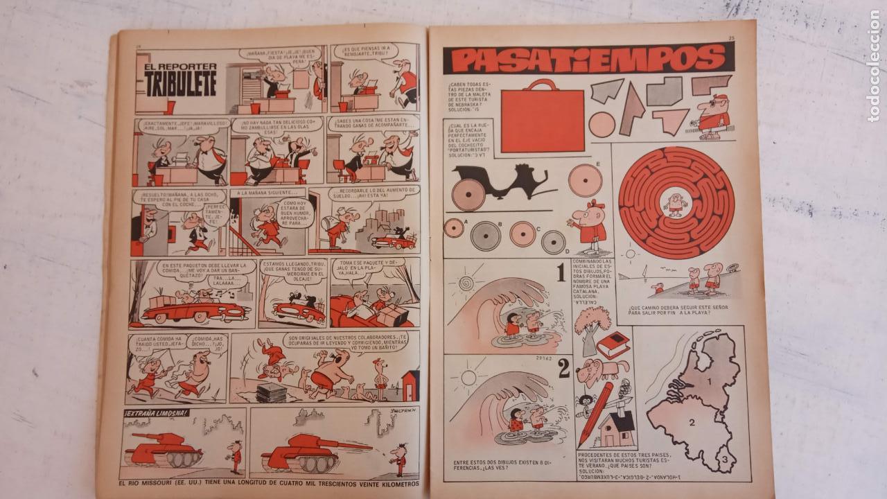 Tebeos: PULGARCITO ALMANAQUES - 1949,1950,1951,1952,1953,1954,1955,1956,1957,1958,1959 - EXTRA VACACIONES - - Foto 118 - 163619374