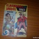 Tebeos: APACHE Y DON Z ALMANAQUES REUNIDOS PARA 1961 EDITA MAGA . Lote 164686970