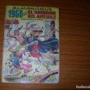 Tebeos: EL GUERRERO DEL ANTIFAZ ALMANAQUE PARA 1960 EDITA VALENCIANA . Lote 164687638