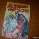 Tebeos: EL GUERRERO DEL ANTIFAZ ALMANAQUE PARA 1957 EDITA VALENCIANA . Lote 164687898