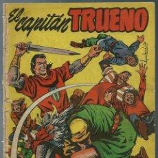 Tebeos: EL CAPITAN TRUENO - ALMANAQUE PARA 1958 - BRUGUERA - ORIGINAL - MUY MUY DIFICIL - VER DESCRIPCION. Lote 165382094