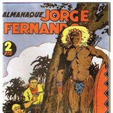 Tebeos: ALMANAQUE JORGE Y FERNANDO AÑO 1944. Lote 165607142