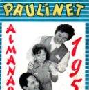 Tebeos: PAULINET ALMANAQUE 1958. Lote 168323628