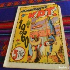 Tebeos: ALMANAQUE KDT K.D.T. 1960. EDITORIAL MATEU. 5 PTS. BUEN ESTADO.. Lote 169436652