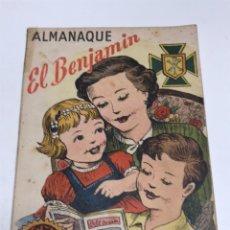 Livros de Banda Desenhada: ALMANAQUE EL BENJAMIN 1951. Lote 170026345