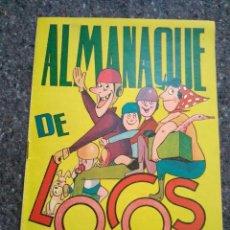 Tebeos: ALMANAQUE DE LOCOS 1962 - SORIANO IZQUIERDO. Lote 170281848