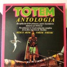 Tebeos: TOTEM ANTOLOGIA Nº 1 MOEBIUS ARZACH RETAPADO CON LOS 4 PRIMEROS NUMEROS NUEVA FRONTERA ARZAK. Lote 171338067