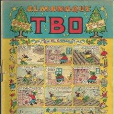 Tebeos: COMIC ALMANAQUE TBO DE 1953. Lote 171451733