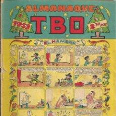 Tebeos: COMIC ALMANAQUE TBO DE 1952. Lote 171451869