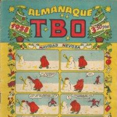 Tebeos: COMIC ALMANAQUE TBO DE 1958. Lote 171452008