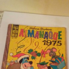 Tebeos: ALMANAQUE TELE HISTORIETAS 1975. Lote 172228790