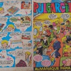 Tebeos: PULGARCITO ALMANAQUE PARA 1971 BRUGUERA. Lote 173375165