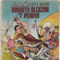 Tebeos: ROBERTO ALCAZAR ALMANAQUE 1963 ORIGINAL. Lote 173863382