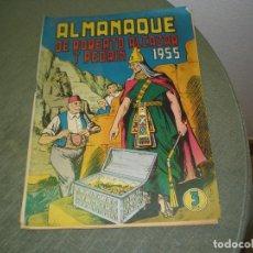 Tebeos: ALMANAQUE 1955 ROBERTO ALCAZAR. Lote 173946689