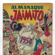 Tebeos: ALMANAQUE JAIMITO, AÑO 1954 ***EDITORIAL VALENCIANA***. Lote 174083285