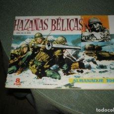 Tebeos: ALMANAQUE DE HAZAÑAS BELICAS DE 1960. Lote 228141990