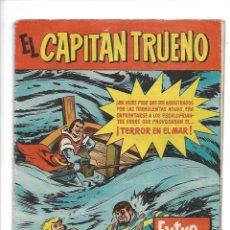 Tebeos: EL CAPITÁN TRUENO EXTRA DE VERANO TERROR EN EL MAR AÑO 1960 DIBUJOS DE BEAUMONT LA CONTRAPORTADA. Lote 175386787