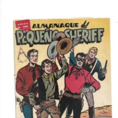 Tebeos: PEQUEÑO SHERIFF, ALMANAQUE AÑO 1951 ES ORIGINAL DIBUJANTES: PEDRO ALFEREZ, TORRENT, MANUEL VAZQUEZ.. Lote 175577297
