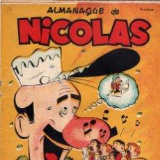 Tebeos: ALMANAQUE NICOLAS PARA 1952. Lote 175651175